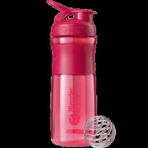 Шейкер SportMixer с шариком 820 ml Pink
