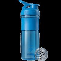 Шейкер SportMixer с шариком 820 ml Cyan