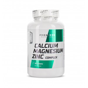 Progress Nutrition Calcium Magnesium Zinc 90 tablets