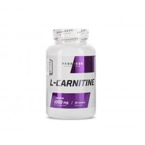 Progress Nutrition L-carnitine 30 tablets