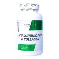 Progress Nutrition Hyaluronic acid and Collagen 60 capsules