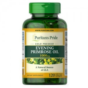 Puritans Evening primrose oil 1000mg with GLA (120 капсул)