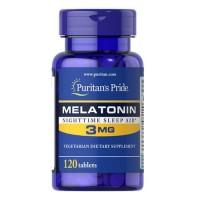 Puritans Pride Melatonin 3mg 120 capsules