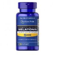 Puritans Pride Melatonin 5 mg 120 capsules