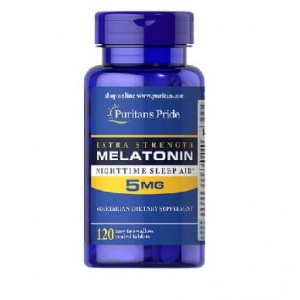 Puritans Pride Melatonin 5 mg 120 capsules