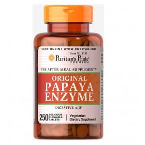 Puritans Pride Papaya Enzyme 250 tablets