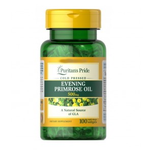 Puritans Evening primrose oil 500mg with GLA (100 капсул)