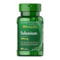 Puritans Pride Selenium 100 mcg 100 tablets
