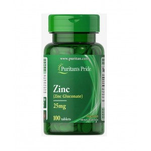 Puritans Pride Zinc 25 mg 100 caplets