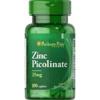Puritans Pride Zinc Picolinate 25mg 100 caplets