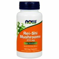 NOW Rei-shi mushrooms 270 mg 100 caps