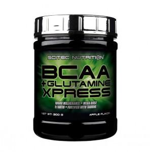 Scitec Nutrition bcaa-glutamine xpress 300 грамм