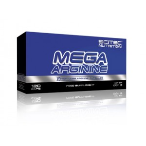 Scitec Nutrition Mega Arginine 1400mg 120 капсул