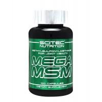 Scitec nutrition mega msm 100 capsules