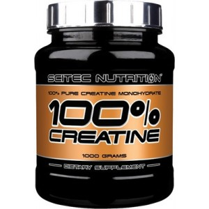 Scitec Nutrition 100% CREATINE 1 кг 200 порций