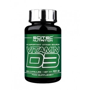 Scitec Nutrition Vitamin D3 480 IU 250 caps