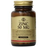 Solgar Zinc Gluconate 50 mg 100 tablets
