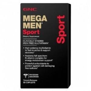 GNC Mega Men Sport 90 caplets