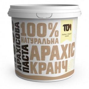 TOM арахисовая паста кранч 1000 грамм