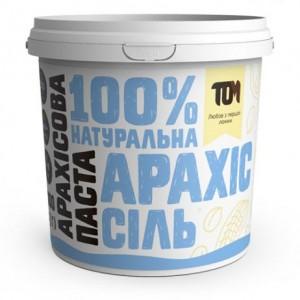 TOM арахисовая паста солёная 1000 грамм