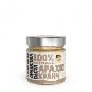 TOM арахисовая паста кранч 180 грамм