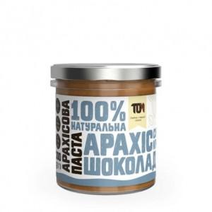 TOM арахисовая паста кранч с шоколадом 300 грамм
