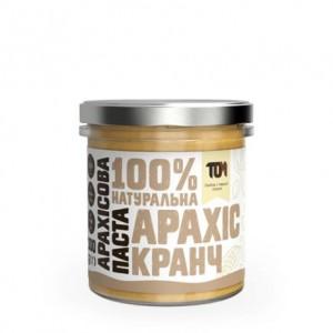 TOM арахисовая паста кранч 300 грамм