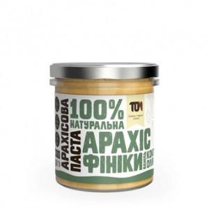 TOM арахисовая паста с финиками и кокосовым маслом 300 грамм