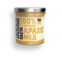 TOM арахисовая паста с мёдом 300 грамм