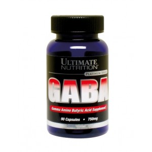 Ultimate Nutrition Gaba 750mg 90 caps Гамк