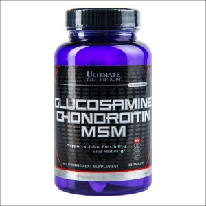 Ultimate Nutrition Glucosamine Chondroitine MSM 90 tabs