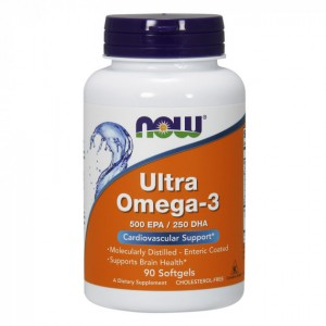NOW - Ultra Omega - 3 (90 softgel)