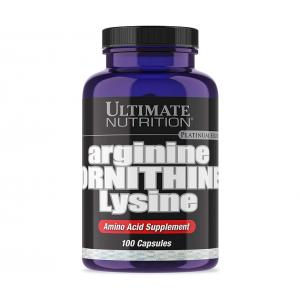 Ultimate Nutrition arginine ornithine lysine 100 caps