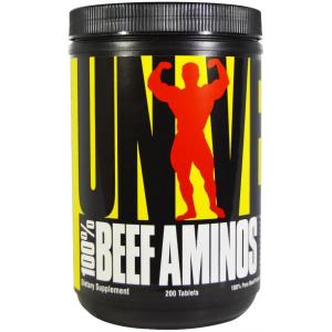 UN 100% beef aminos 200 tabs