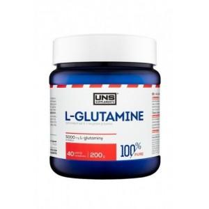 UNS 100% Pure L GLUTAMINE - 200g Pure