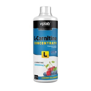 VPLab L-Carnitine Concentrate 120.000 (вишня-черника) 1000 ml