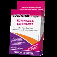 Webber Naturals Cold-A-Tak Echinacea 60 softgels